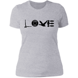 Duck Hunting Love Ladies' Boyfriend T-Shirt