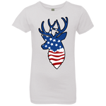 Deer Flag Girls' Princess T-Shirt