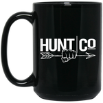 HuntCo 15 oz. Black Mug