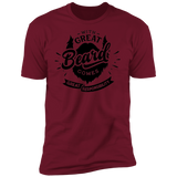 Great Beard Great Responsibility Short Sleeve T-Shirt