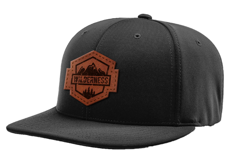 Wilderness Leather Patch Hat
