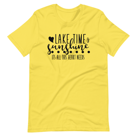 Lake Time & Sunshine T-Shirt