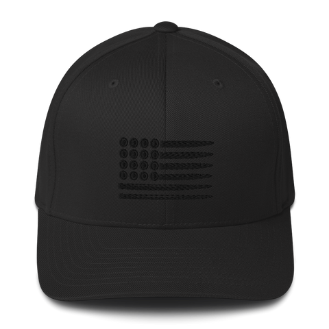 Bullet Flag Structured Flexfit Cap
