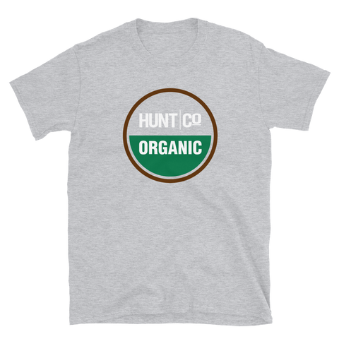 HuntCo Organic Short-Sleeve Unisex T-Shirt