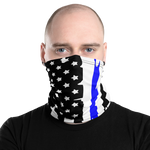 Thin Blue Line Neck and Face Gaiter