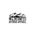Wilderness Bubble-free stickers