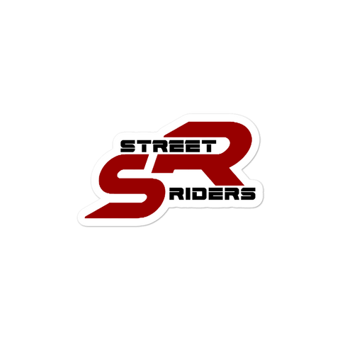 Street Riders Sticker