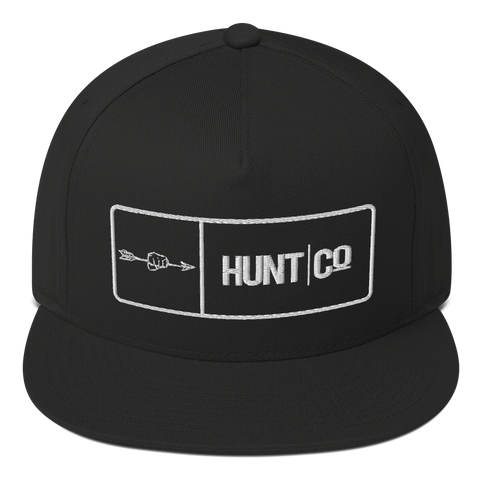 HuntCo Bar Flat Bill Cap