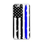 Thin Blue Line iPhone Case