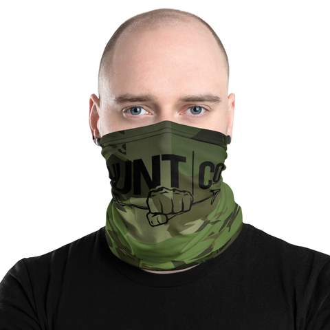 HuntCo Camo Neck and Face Gaiter