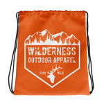 Wilderness Badge Drawstring bag