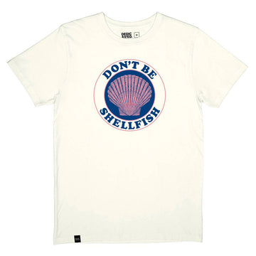 Tシャツ DON'T BE SHELFISH
