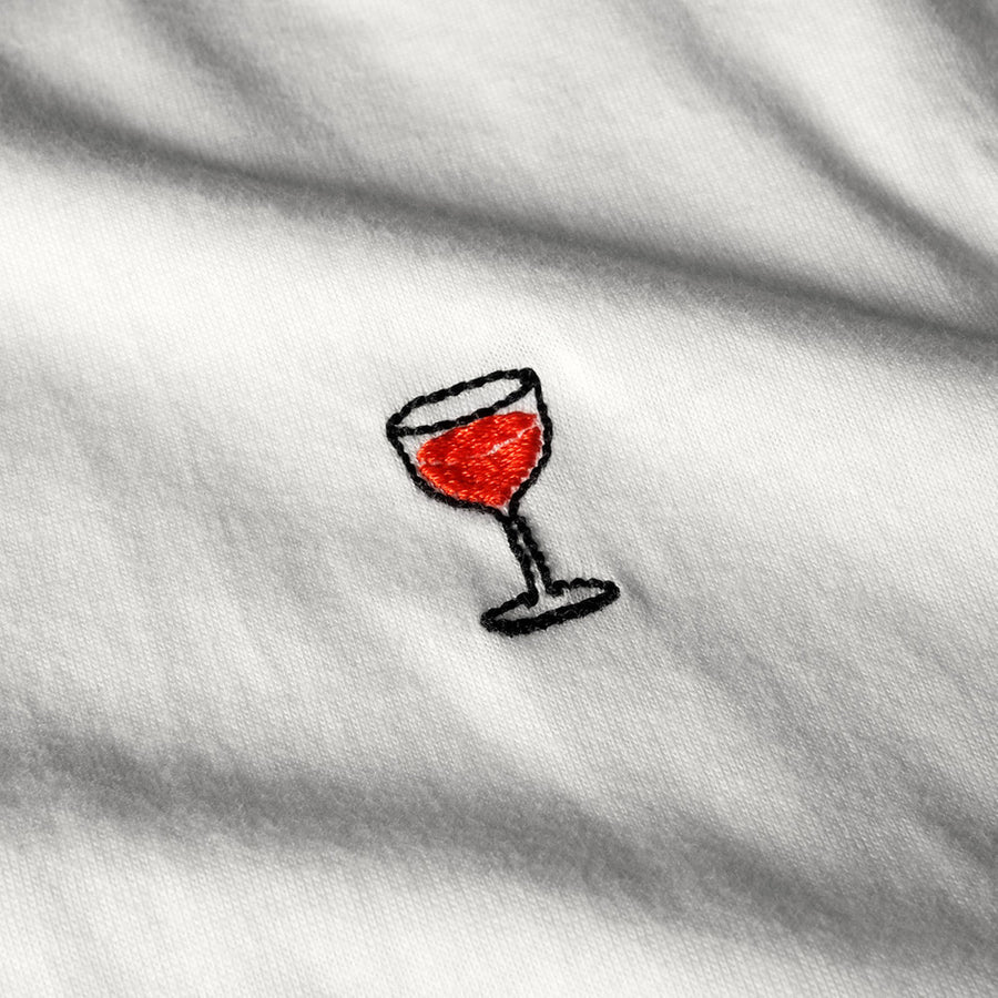 TシャツRED WINE GLASS