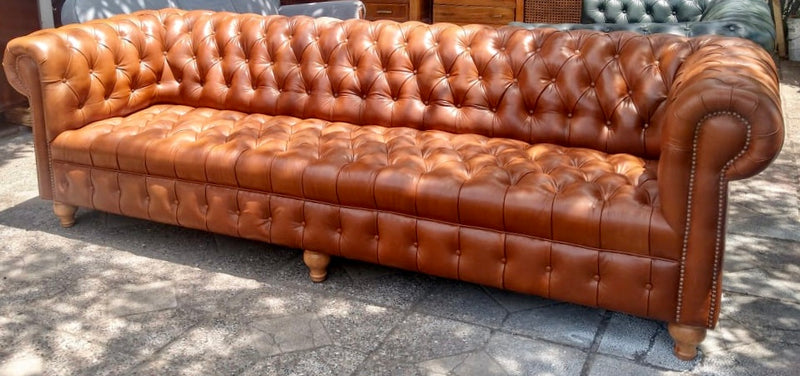 Chesterfield 200 cms, capitoné (colores)