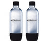 Bottle Carbonating Sodastream 1LT Black Pk2