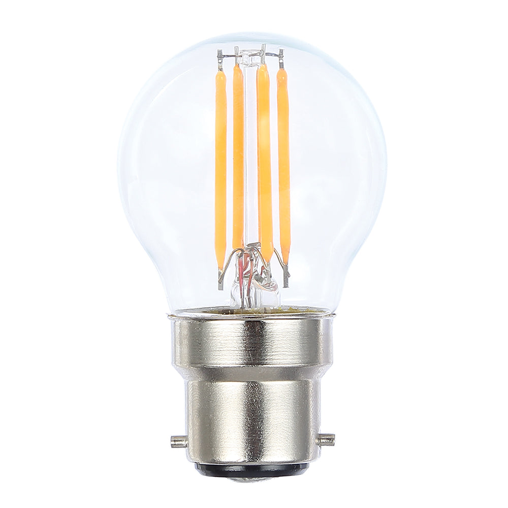 Lusion Lamp LED Fancy Round Dimmable 4W 400lm 2700K BC Clear