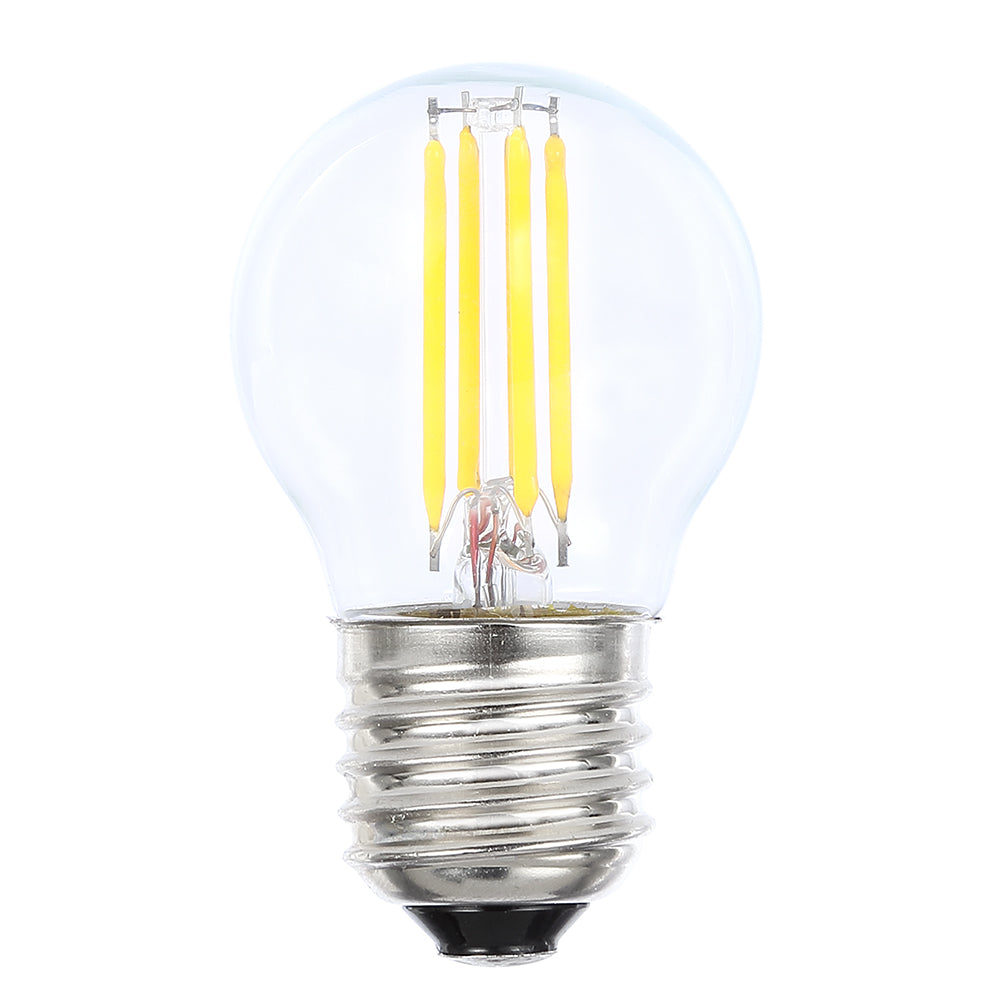 Lusion Lamp LED Fancy Round Dimmable 4W 400lm 6500K ES Clear