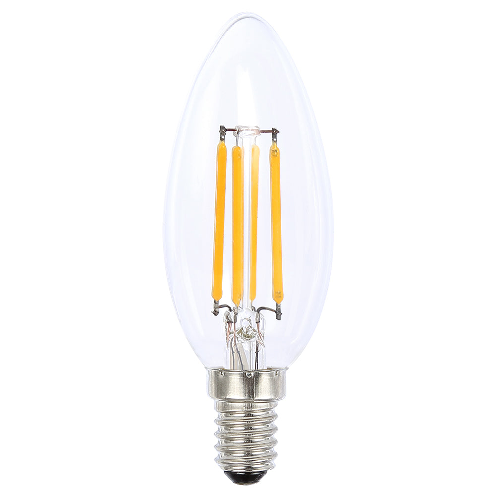 Lusion Lamp LED Candle Dimmable 4W 400lm 2700K SES Clear