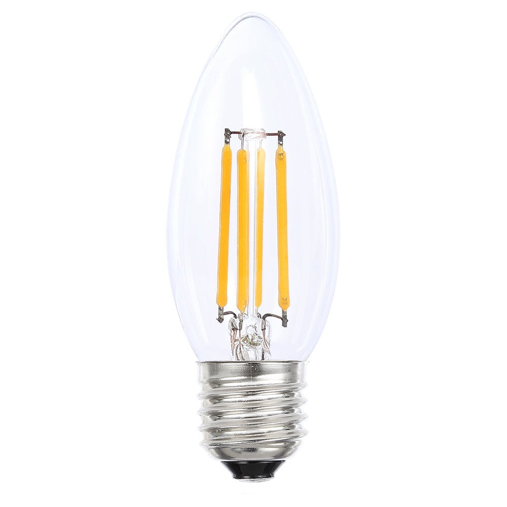 Lusion Lamp LED Candle Dimmable 4W 400lm 2700K ES Clear