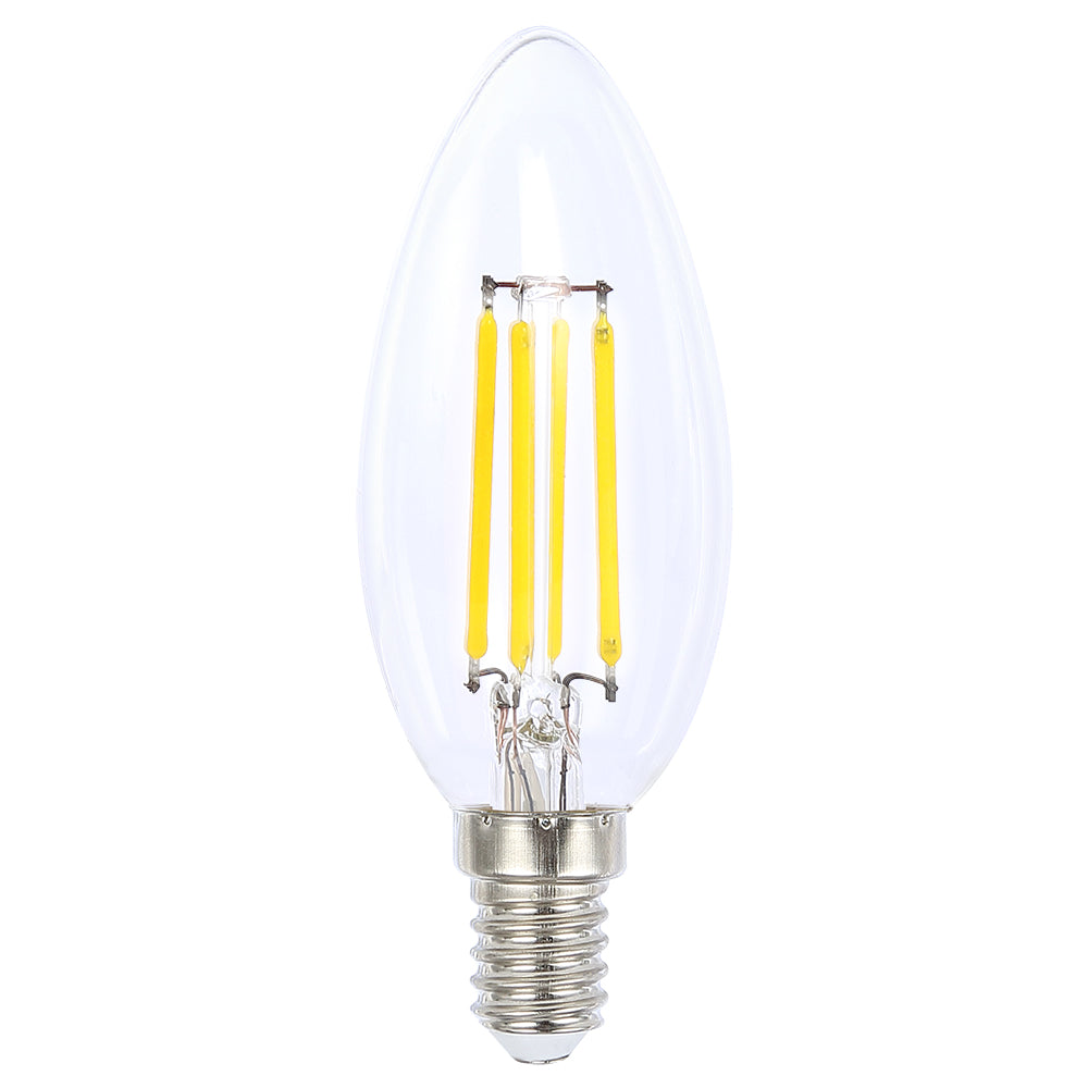 Lusion Lamp LED Candle Dimmable 4W 470lm 4000K SES Clear