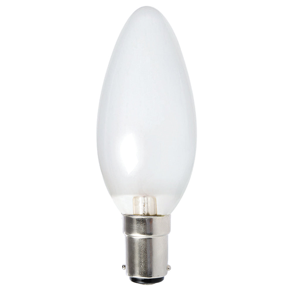 Lusion Lamp LED Candle Dimmable 4W 400lm 2700K SBC Pearl