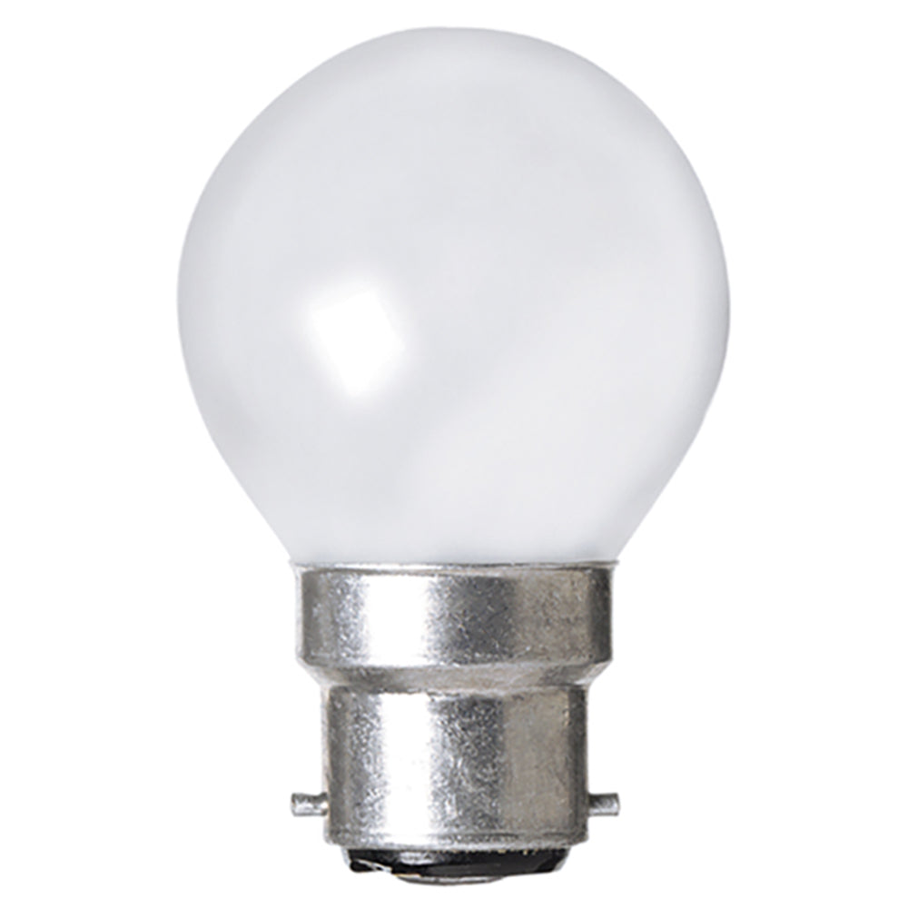 Lusion Lamp LED Fancy Round Dimmable 4W 400lm 6500K BC Pearl
