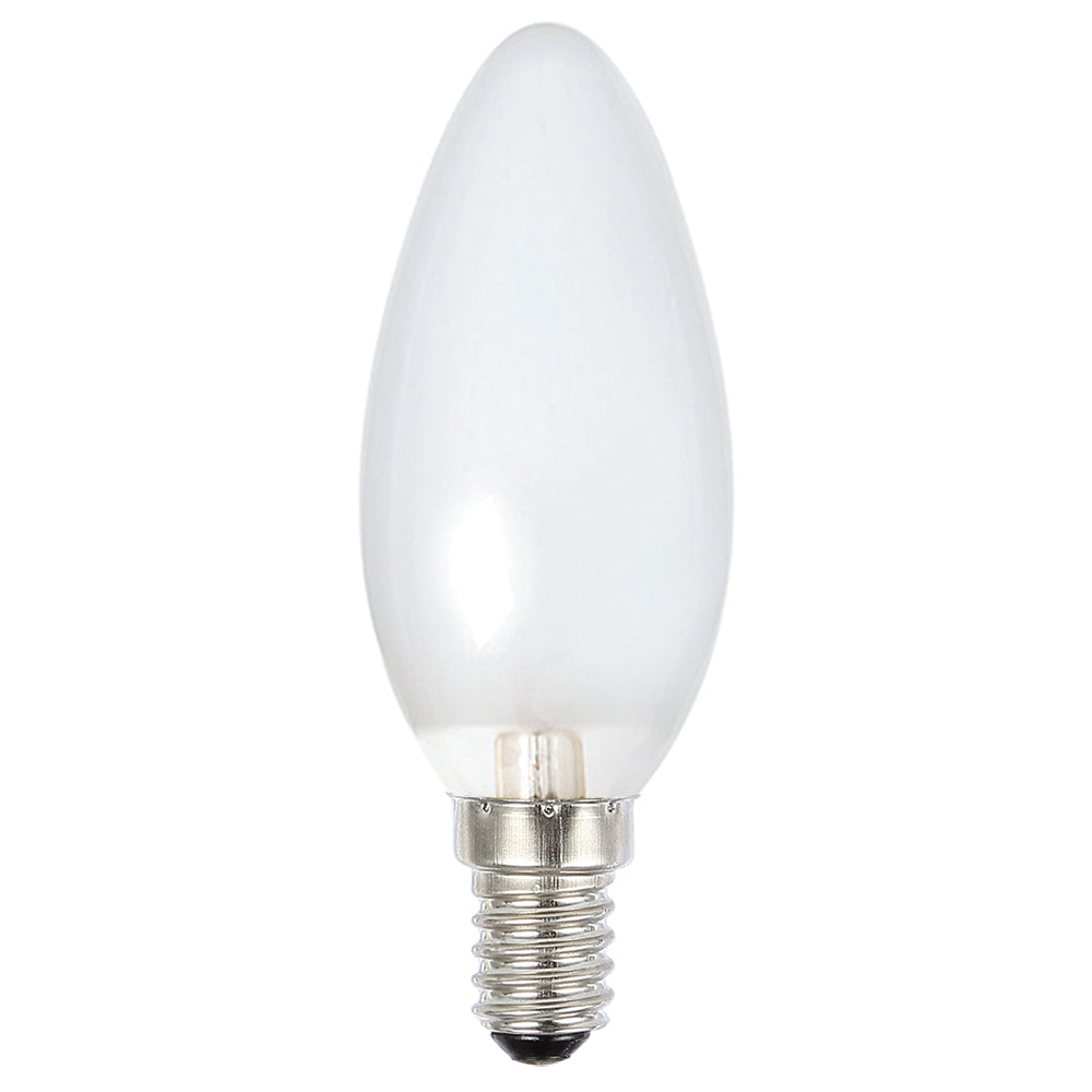 Lusion Lamp LED Candle Dimmable 4W 400lm 6500K SES Pearl