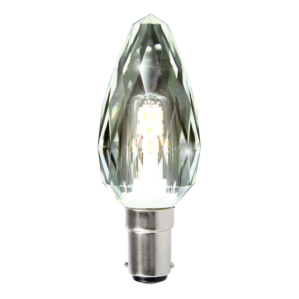 Lusion Lamp LED Candle Crystal Dimmable 4W 320lm 6500K SBC