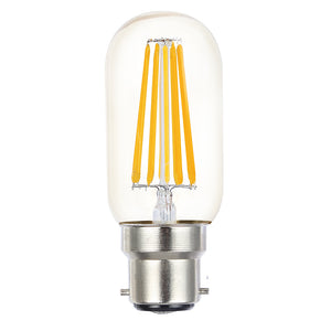 Lusion Lamp LED T45 Filament Dimmable 8W 700lm 2700K BC Clear