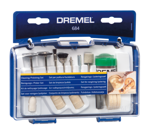Dremel Mini Accessory Set Cleaning & Polishing 20pce