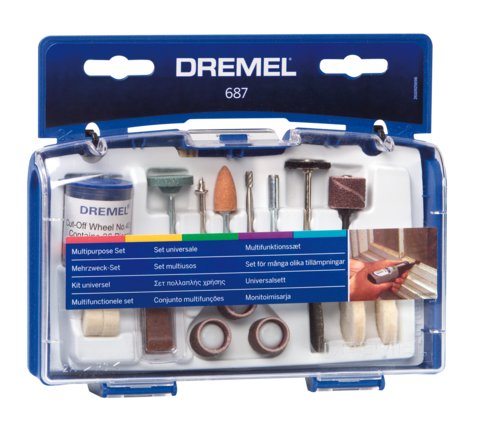 Dremel Mini Accessory Set General Purpose 52Pce