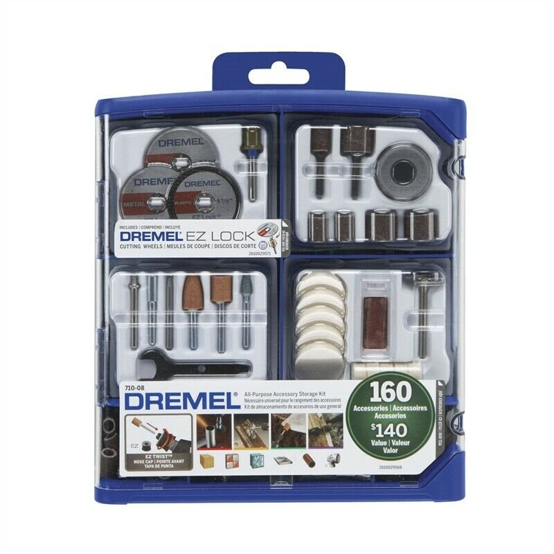 Dremel Accessory Kit 710 160Pce