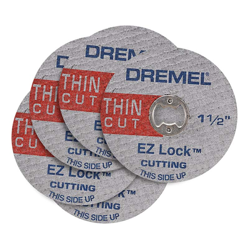 Dremel Cut Off Wheel Thin EZ Lock EZ409 38mm Pk5