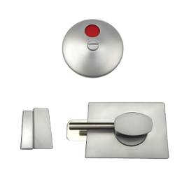 Metlam Indicator Set Toilet Door 300 Ambulant Con Screw Fix SCP Pk1