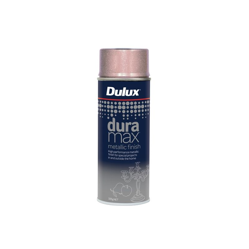 Dulux Duramax Spray Paint Metalic Rose Gold 325G