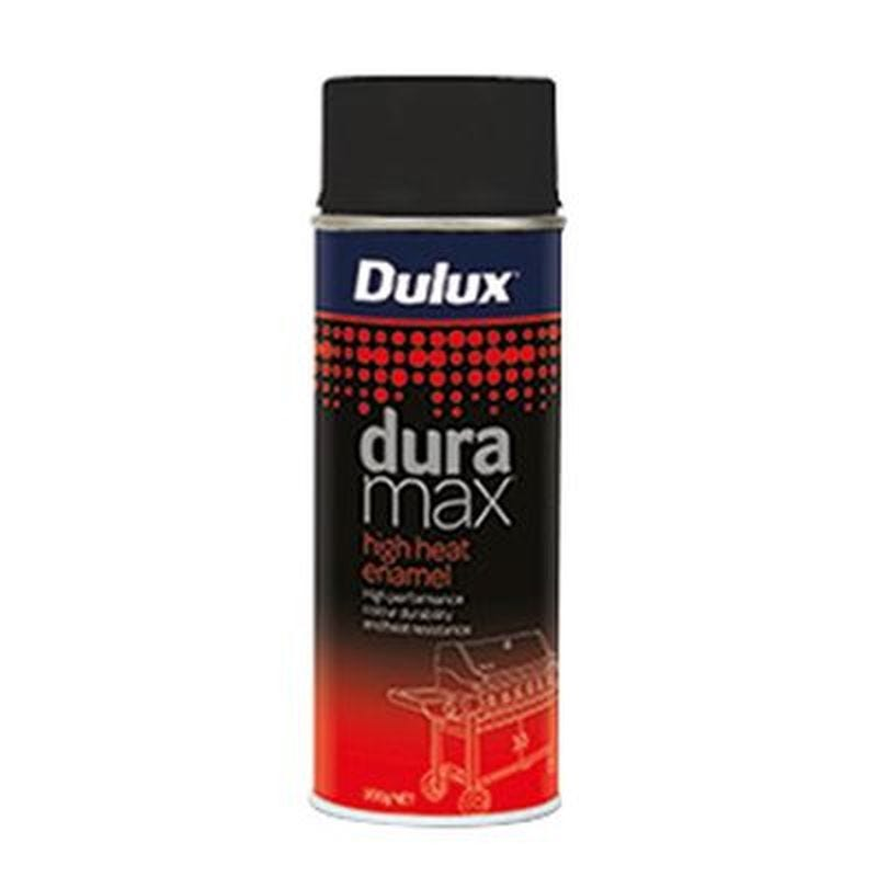 Dulux Duramax Spray Paint High Heat Black 300G