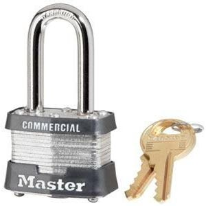 Padlock Laminated Steel Long Shackle 40mm Pk1