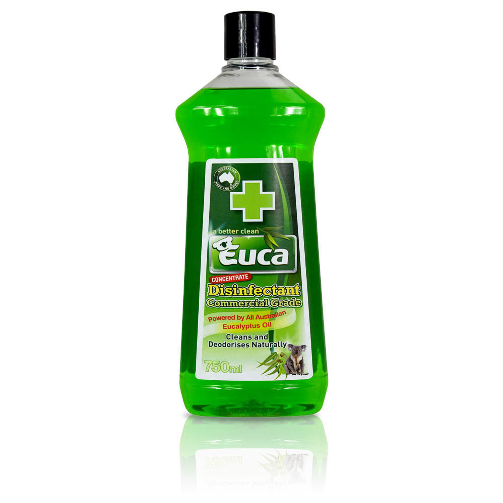 Euca Disinfectant Natural & Commercial Grade Cleaner - 750ml