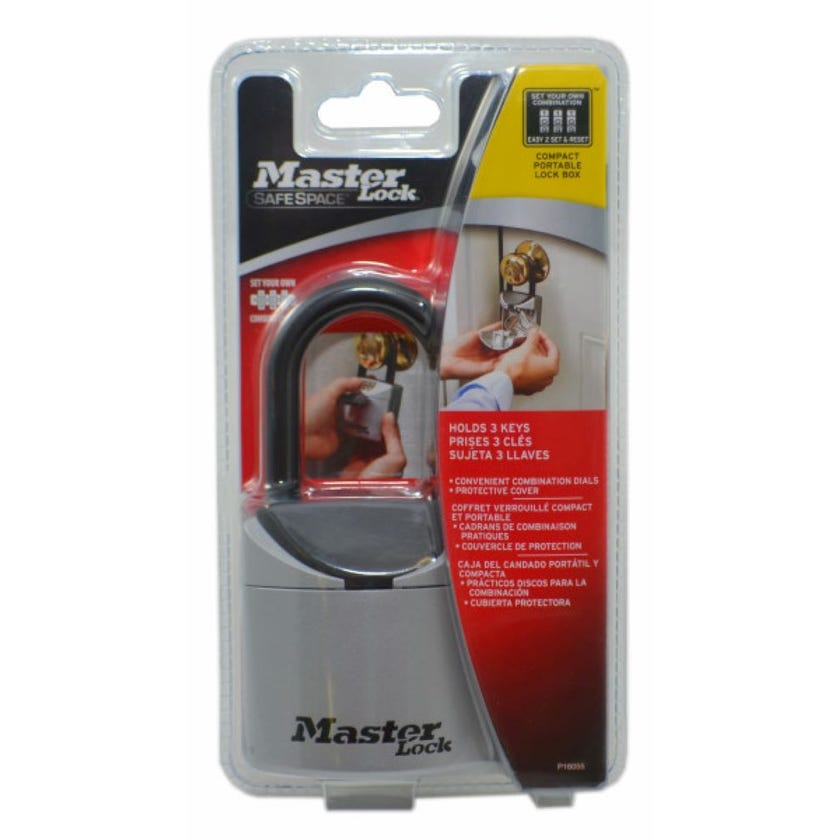 Master Lock Safe Key Combination Weather Cover Portable