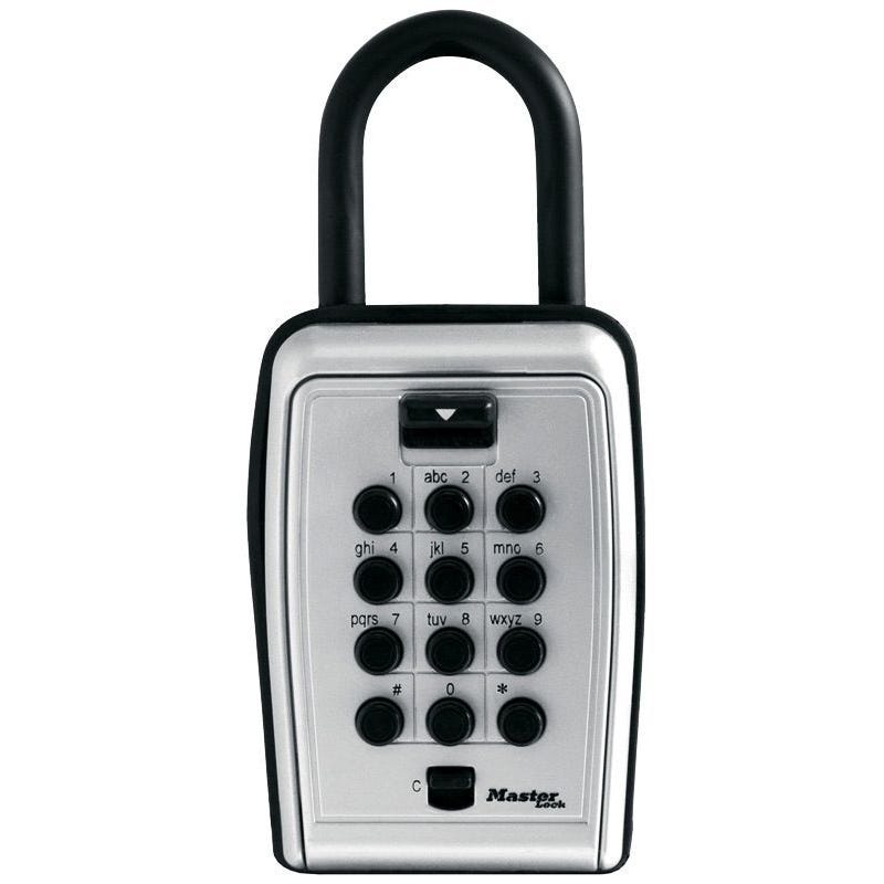 Master Lock Safe Key Portable Push Button