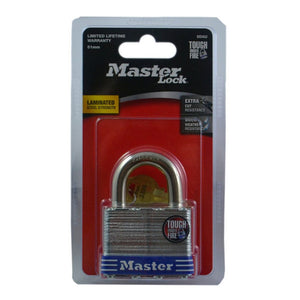 Master Lock Padlock Laminated Steel 51mm Pk1