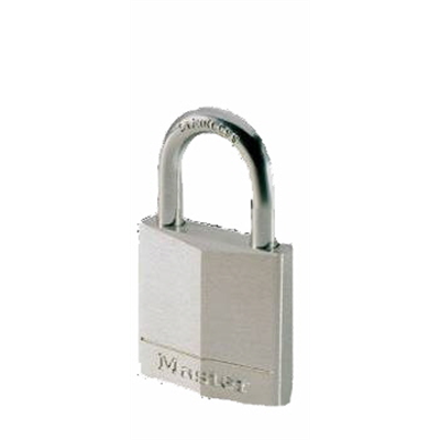 Padlock Nickel Stainless Shackle 40mm Pk1