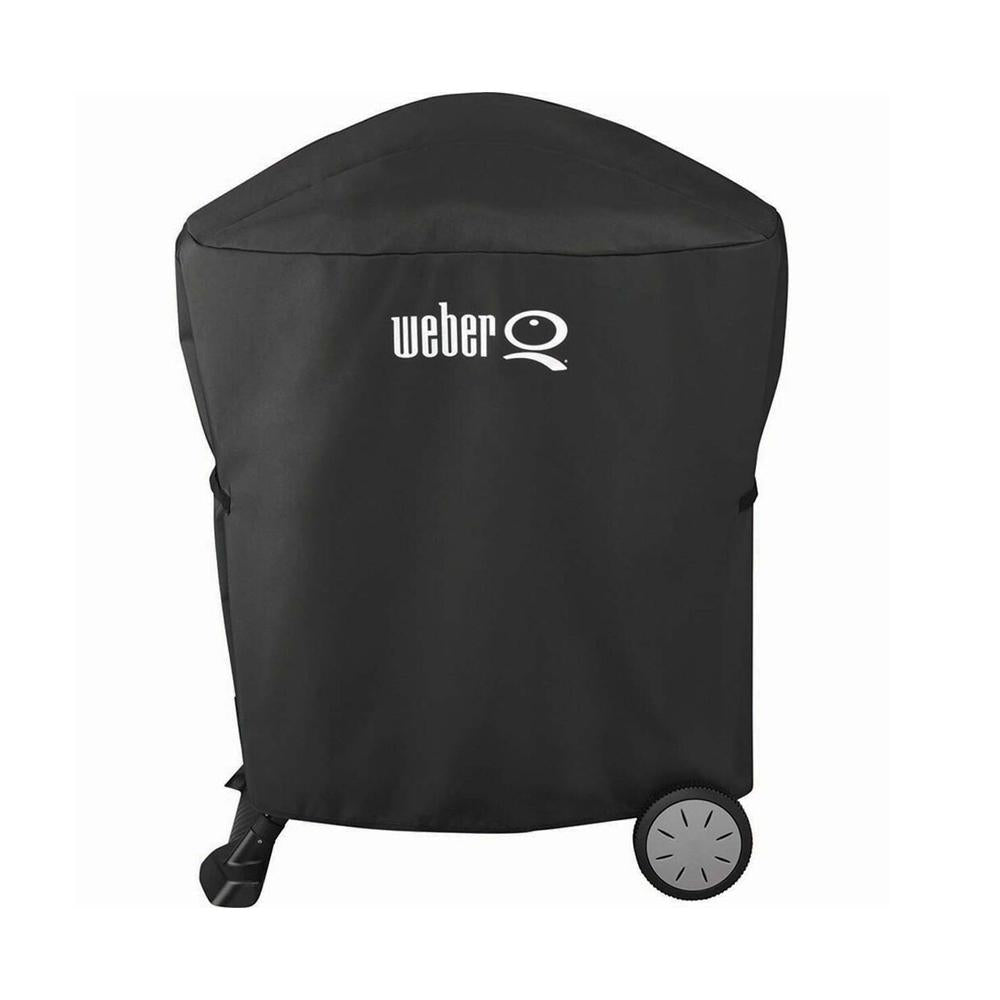 Cover Bbq Weber Suits Q1000 & Q2000 With Portable Cart