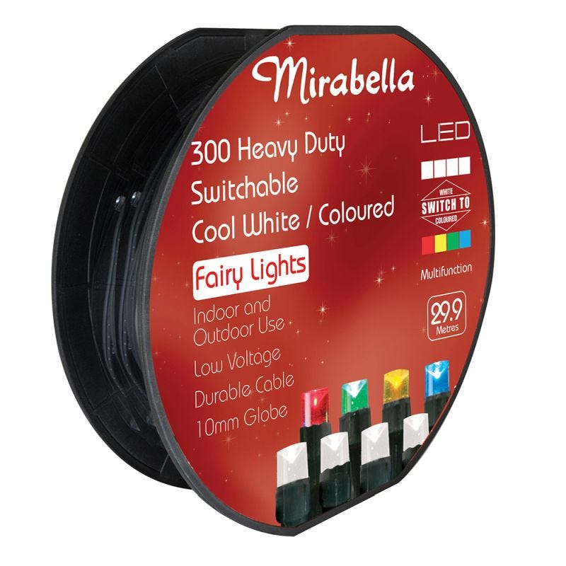 Fairy Light Led Low Voltage Dual Colour 300Pce