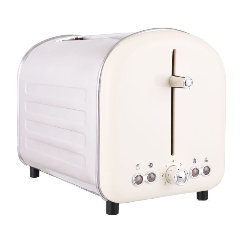 Retro Toaster 2 Slice White