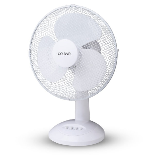 Fan Desk White Goldair 30cm