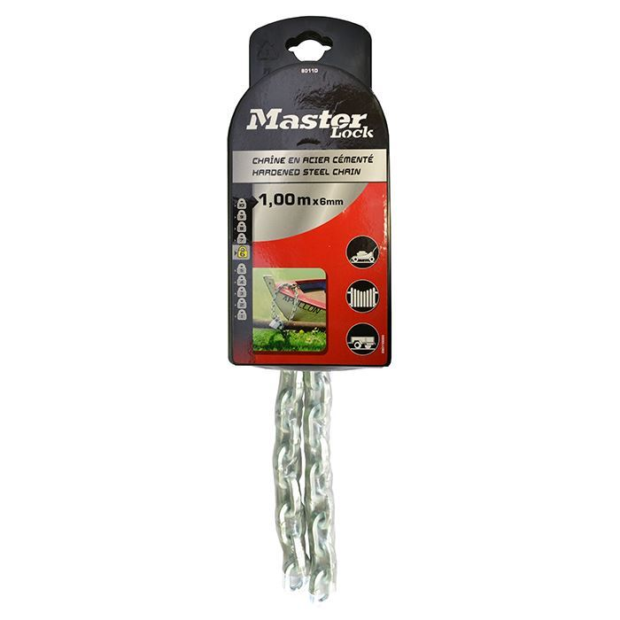 Master Lock Chain Security 1000mm X 6mm Pk1