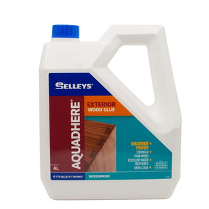 Selleys Adhesive Glue Aquadhere Exterior PVA 4L