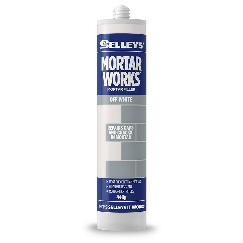 Selleys Filler Mortar Works Off White 440G
