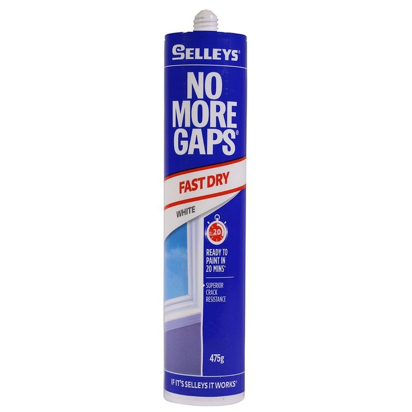Selleys Filler No More Gaps Fast Dry White 475G